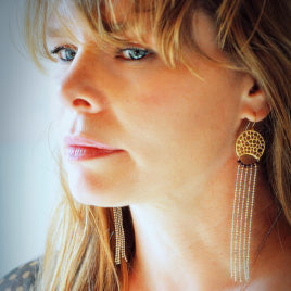 Boucles d'oreilles Diva Gaudi