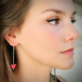 Boucles d'oreilles Graphik Triangles