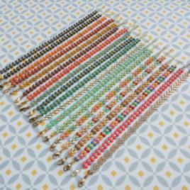 Ploom Bijoux createur bracelets fins Epis delicat coloré