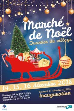 Stand au Marché de Noël de Fontenay-sous-Bois ce WE du 15-16 décembre 2018