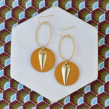 boucles d'oreilles Cat originales femme ploom bijoux createur français