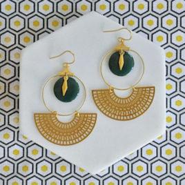 boucles d'oreilles Kheops Fine originales femme ploom bijoux createur français
