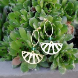 boucles d'oreilles Lemon originales femme ploom bijoux createur français
