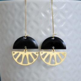 boucles d'oreilles Limonade originales femme ploom bijoux createur français