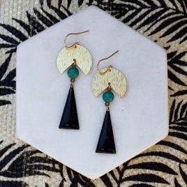 boucles d'oreilles Nemesis originales femme ploom bijoux createur français
