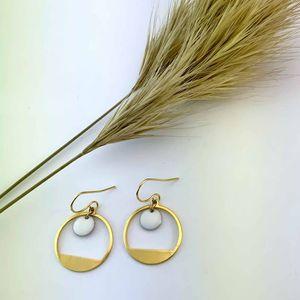 boucles d'oreilles graphiques minimalistes chic simples ploom bijoux créateur original