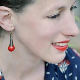 boucles d'oreilles afrika originales faciles a porter