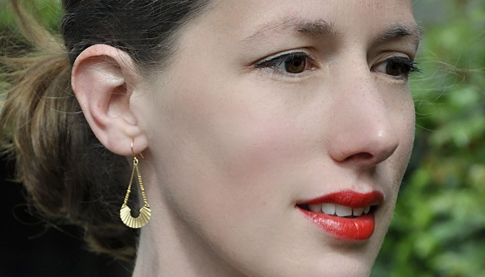boucles d'oreilles retro art deco raffinée elegantes ploom bijoux originales