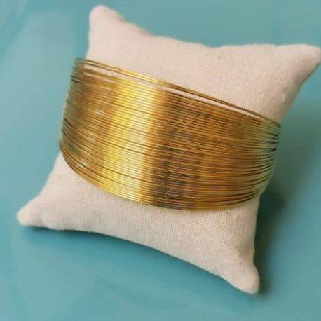 bracelet manchette multi joncs original ethnique ploom bijoux